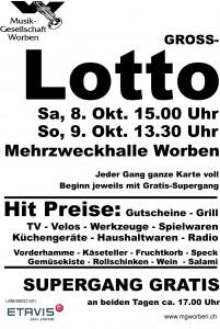 Gross-Lotto @ Mehrzweckhalle Worben
