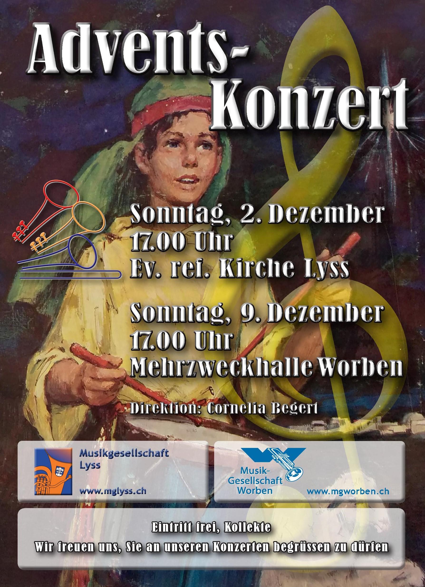 Adventskonzert @ ref. Kirche, Lyss