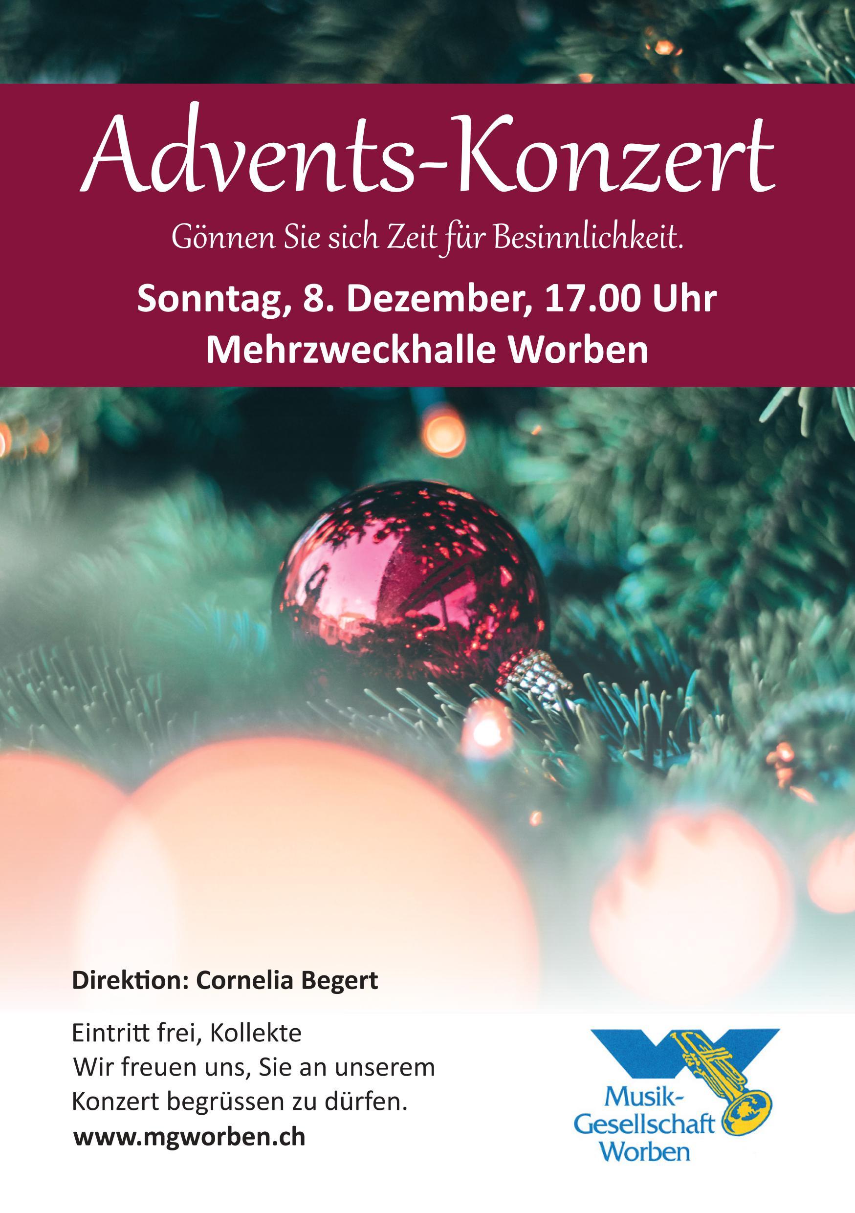 Adventskonzert @ MZH, Worben